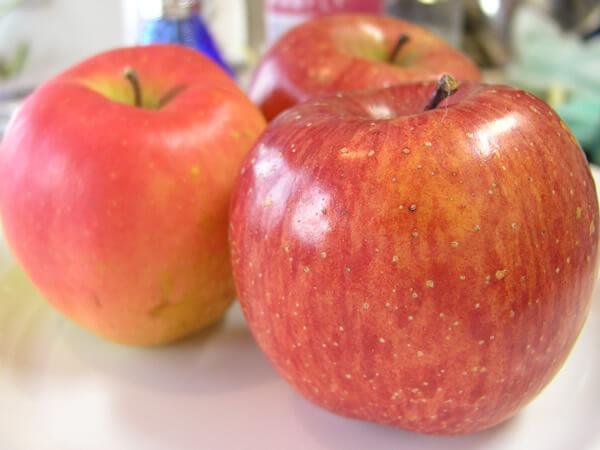 リンゴの保管方法
