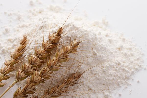 小麦粉と小麦
