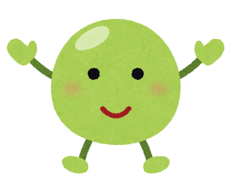 vegetable_character_greenpeas