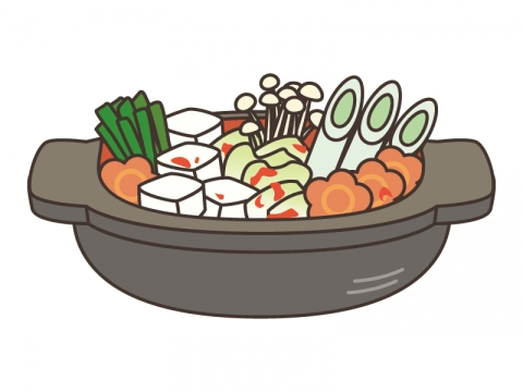 違い 鍋 鍋 チゲ キムチ